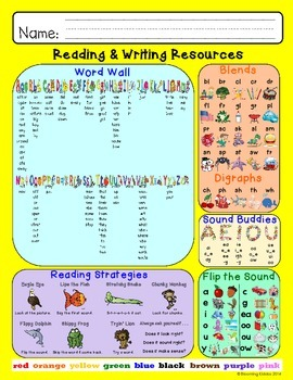 Fingertip Reading and Writing Resources