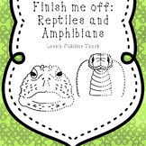 Finish Me Off: Amphibians and Reptiles Clip Art