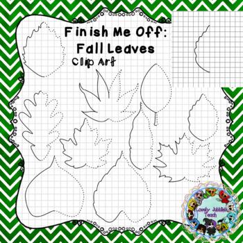 Finish Me Off: Fall/Autumn Leaves