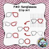 Finish Me Off Mini Set Clip Art: Sunglasses