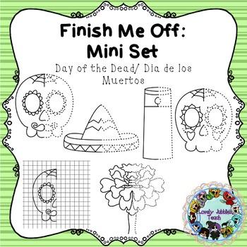 Finish Me Off Mini Set: Dia de Los Muertos/ Day of the Dead