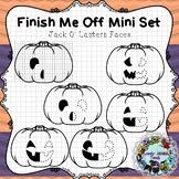 Finish Me Off Mini Set: Jack O' Lantern Faces