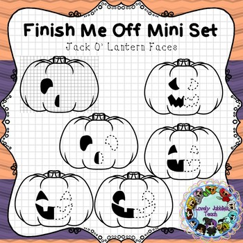 Finish Me Off Mini Set: Jack O' Lantern Faces