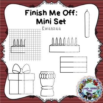 Finish Me Off Mini Set: Kwanzaa