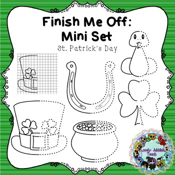 Finish Me Off Mini Set: St. Patrick's Day
