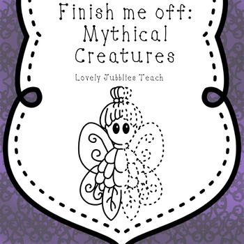 Finish Me Off: Mythical Creatures Clip Art