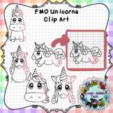 Finish Me Off: Unicorn Clip Art