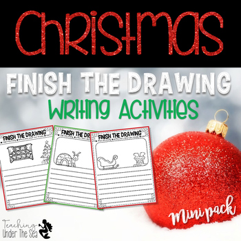 Finish The Drawing Christmas Edition