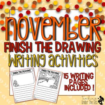 Finish The Drawing November Edition