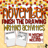 Finish The Drawing November Edition