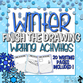 Finish The Drawing Winter Edition