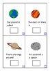 Finish The Sentences Interactive Book- Space, Autism, Spec