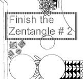 Finish The Zentangle # 2