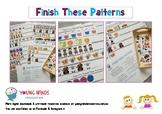 Finish These Patterns