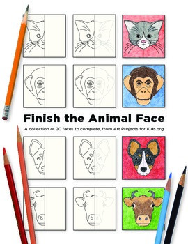 Finish the Animal Face