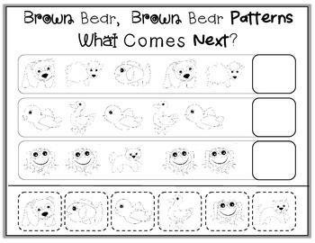 Finish the Pattern Themed Printables