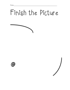 Finish the Picture Art Activity