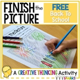 Finish the Picture Back To School FREE