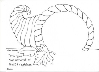 Finish the Picture. . . Thanksgiving Coloring Pages