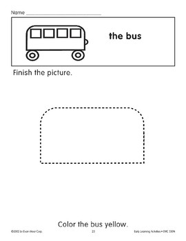 Finish the Picture: The Bus