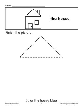 Finish the Picture: The House