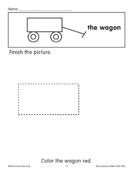 Finish the Picture: The Wagon