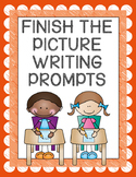 Finish the Picture Writing Prompts {50 Prompts & Differentiated Writing Papers!}