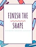 Finish the Shape: Symmetry Drawing