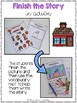 Finish the Story - Back to School FREEBIE