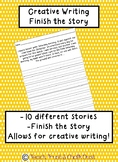 Finish the Story- Creative Writing