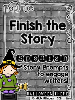 Finish the Story - Halloween Edition {SPANISH}