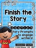 Finish the Story - January Edition {SPANISH}