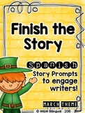 Finish the Story - March Edition {SPANISH}