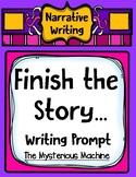 Finish the Story Narrative Writing Story Starter