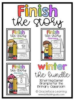Finish the Story - Pack 2: Winter
