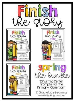 Writing Prompts - Finish the Story - Spring