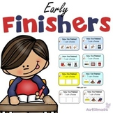 I've finished, Now What? Early Finisher Task Cards