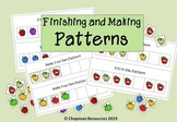Finishing and Making Patterns