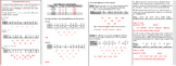 Finite Differences and Polynomial Models Notes, Worksheet