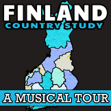 Finland: Country Study (Musical Edition) ✦ Finland Geography & Culture with Map