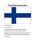 Finland Map Scavenger Hunt