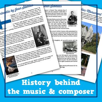 Finlandia by Jean Sibelius Musical Lesson Plan