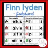 Finn lydene - Firelydsord