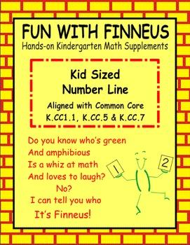 Finneus Kid Sized Number Line