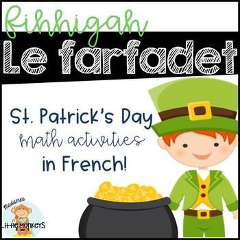 Finnigan le farfadet: A St. Patrick's Day Mini Math Unit