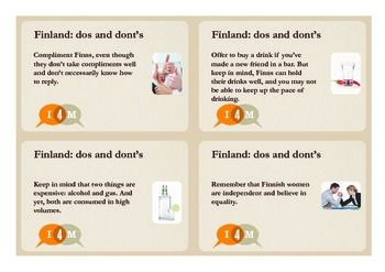 Finnish dos and donts