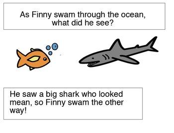 Finny's Day In The Ocean Book (Ocean Animals)