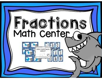"""""""Fin""""tastic Fractions Center"""
