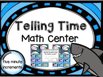"""Fin""tastic Telling Time Math Center"