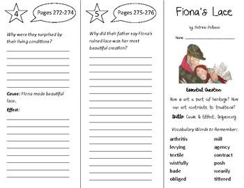 Fiona's Lace Trifold - Open Court 4th Grade Unit 3 Lesson 3
